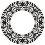 cirkelram Arkivfoton