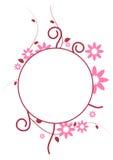 cirkelram Stock Illustrationer