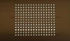 Cirkels binnen een vierkant Stock Afbeelding