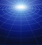 Cirkels van licht Stock Foto