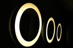 Cirkels van Licht. Royalty-vrije Stock Foto