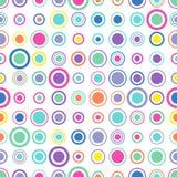 Cirkelspatroon stock illustratie