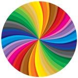 cirkelspectrum Arkivbild