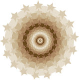 cirkelstjärnatunnel stock illustrationer