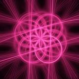 cirkelstrålar Fotografering för Bildbyråer