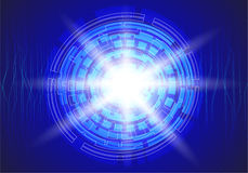 Cirkelteknologi Arkivfoto