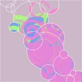 Cirkeltryck illustration Arkivbild