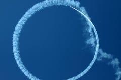 Cirkla i skyen Royaltyfri Bild
