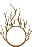 cirkla treen stock illustrationer