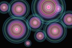 cirklar vektor illustrationer