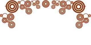 cirklar royaltyfri illustrationer