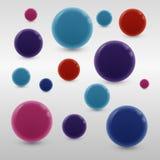 cirklar stock illustrationer