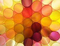 Cirklar abstraktion Arkivfoto