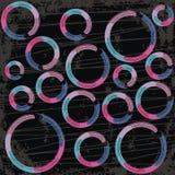 Cirklar bakgrund Fotografering för Bildbyråer