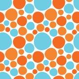 cirklar den seamless färgrika modellen Royaltyfri Fotografi