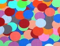 cirklar färgrikt Arkivfoton