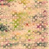 cirklar färgrikt Arkivbild