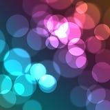 cirklar färgrikt Royaltyfria Bilder