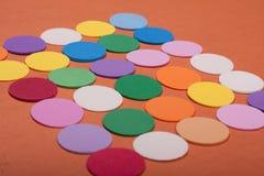 cirklar färgrikt Arkivbilder