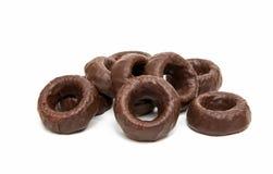 cirklar för chokladgodis Royaltyfria Bilder