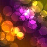 cirklar färgrikt Royaltyfria Foton