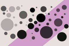 cirklar illustrationen Royaltyfria Bilder