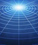 cirklar jordklotet stock illustrationer