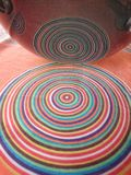 cirklar koncentriskt Royaltyfria Bilder