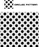 cirklar mönsan den seamless vektorn vektor illustrationer