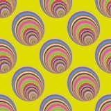 cirklar mönsan seamless Royaltyfria Foton