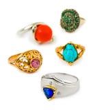 Cirklar och smycken royaltyfri foto