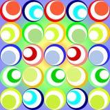 cirklar retro Arkivbild