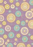 cirklar retro Arkivbilder