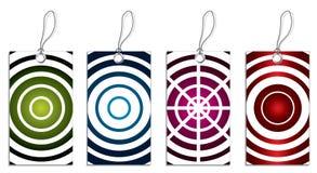 cirklar svalnar etiketter Fotografering för Bildbyråer