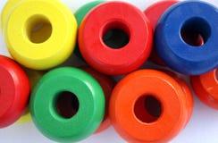 cirklar trä Fotografering för Bildbyråer