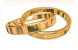 cirklar två som gifta sig Arkivfoton