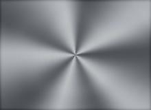 Cirkulär borstad metalltexturbakgrund Arkivfoton