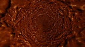 Cirkulär målad textur Royaltyfri Bild