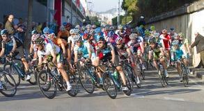 cirkulerande race Fotografering för Bildbyråer