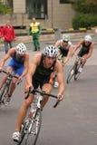 cirkulerande triathlon för konkurrens Royaltyfria Bilder
