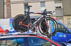 Cirkulering Racing, FDJ Team Bikes arkivbilder
