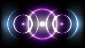 3 cirkuleringar solid våg Royaltyfri Fotografi