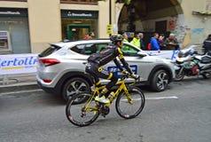 Cirkuleringsväg Racing Bryan Nauleau Team Direct Energie Royaltyfria Bilder