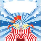 cirkus vektor illustrationer