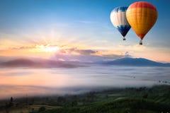 cirkus för luftballongbealton som flyger den varma photgrphed showen va Arkivfoton