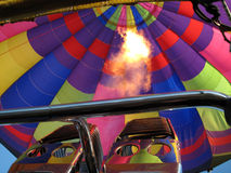 cirkus för luftballongbealton som flyger den varma photgrphed showen va Fotografering för Bildbyråer