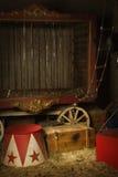 Cirkus i kulisserna Royaltyfria Bilder