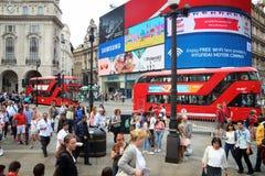 cirkus london piccadilly Royaltyfria Bilder