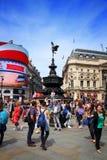 cirkus london piccadilly Royaltyfri Fotografi