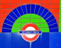 cirkus piccadilly Arkivbilder